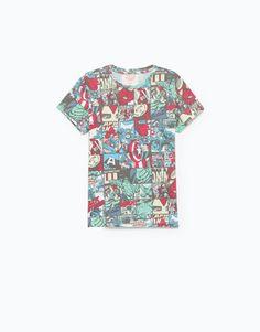 Lefties - t-shirt estampado fantasia - 0-600 - 05011707-V2016