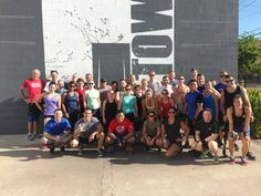 Great job to all who came out and honored the Hotshots. Thank you to all those who donated today! #crossfit #Htownies