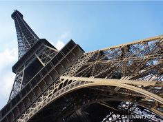 Up close with the Eiffel Tower