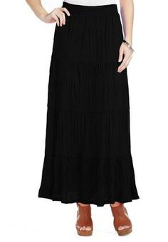 1cac458b2c Cato Fashions Crinkle Peasant Maxi Skirt - Plus #CatoFashions  #CatoSummerStyle Crinkles, Midi Skirt