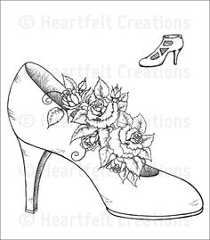 An EZ way to make a unique, fabulous shoe card - a tutorial by Anne Harada   Blog Post