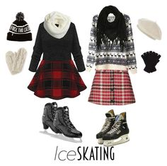 """""""gays: on ice!"""" by disabledpaladin ❤ liked on Polyvore featuring Topshop, Bibico, Johnstons, Harrods and Charlotte Russe"""