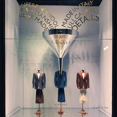 """CANALI 1934,Milan, Italy, """"Super Fine Wool - Tailor Made In Italy"""", pinned by Ton van der Veer"""