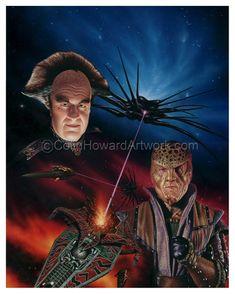 Babylon 5 -  Colin Howard artwork