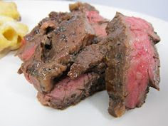 """the blogger said this recipe is called """"the best steak marinade in existence""""  It totally is! I only let it marinate for an hour and it was amaze."""