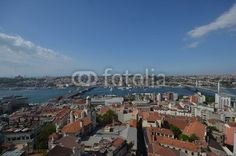 Istanbul view from the Galata Tower