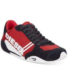 220a4e6c956a7e Diesel Harold Solar Nylon Sneakers Men - All Men s Shoes - Macy s. Diesel  SchuheAthletische ...