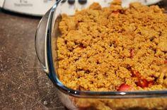 Crumble de fraises au thermomix facile et rapide