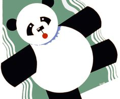 A panda painting, small-claims court, and the perils of communal living.