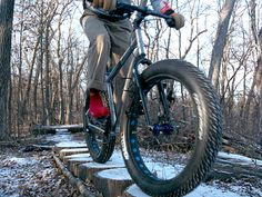 Hop on the fat tire bike trend and ride all year round!