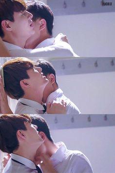 Love by Chance - - Ae x Pete Boys Like, Cute Boys, Lgbt, Gay Aesthetic, Korean Couple, Cute Gay Couples, Ulzzang Couple, Thai Drama, Couple Posing