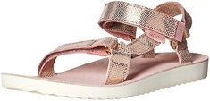 online shopping for Teva Women's W Original Universal Radiant Sandal from top store. See new offer for Teva Women's W Original Universal Radiant Sandal Best Shoes For Travel, Travel Shoes, Top Shoes, Shoes Sandals, Flat Shoes, Flats, Kids Clogs, Shoes 2018, Italy Outfits