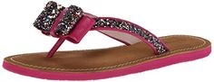kate spade new york Womens Icarda Flip Flop Multi GlitterDeep Pink Nappa 8 M US >>> This is an Amazon Affiliate link. You can get additional details at the image link.