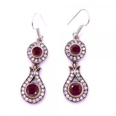 Authentic Sterling Silver Ruby Stone Earrings www.hanedansilver.com #Roxelana #East #Market #Hurrem #Jewellers #Silver #Earring #Jewelers #Ottoman #GrandBazaar #Earring #Silver #Pendant #Silver #Bracelet #Anadolu #Schmuck #Silver #Bead #Bracelet #East #Authentic #Jewelry #Necklace #Jewellery #Silver #Ring #Silver #Necklace #Pendant #Antique #istanbul #Turkiye #Reliable #Outlet #Wholesale #Jewelry #Factory #Manufacturer # Ring #Trade #Gift #Gold #Free #Shipping #Fashion