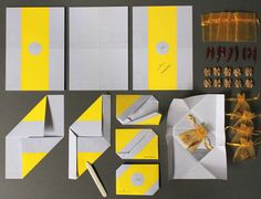 RAY LEMON corporate design  Great fold technique!