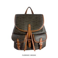 Jessica Collection Signature Shoulder Backpack - Assorted Styles