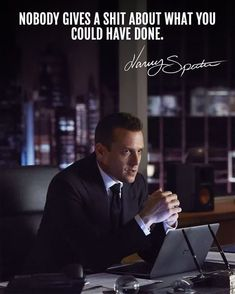 Ideas positive quotes to live by wise words insight for 2019 Wisdom Quotes, Quotes To Live By, Me Quotes, Motivational Quotes, Inspirational Quotes, Chance Quotes, Harvey Specter Suits, Suits Quotes, Gentleman Quotes