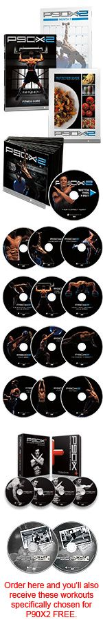 P90X2 + P90X Plus only $49.95 (58% off!) through BeachBody Coach LSpinuzzi (525430) - Now through Dec 2nd, while supplies last! http://www.teambeachbody.com/Shop/HolidaySpecials?referringRepId=525430 Exercise, fitness, health, workout, work out, gym, train, p90, p90x3, p90x2, p90x plus, beach body, sale, les mills, les mills pump, insanity, insanity asylum, volume 1