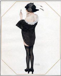 La Vie Parisienne 1913 ~ Raphael Kirchner