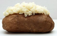Bake your potatoes twice as fast by microwaving them for one minute before popping them in the preheat oven.