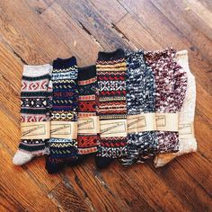 would like some nice socks! I'm cool with 3 varieties, cute warm ones similar to the ones in the pic, fuzzy socks, and ski sock! I want warm comfy feet! Looks Instagram, Fall Outfits, Cute Outfits, Cozy Socks, Cabin Socks, Fluffy Socks, Fun Socks, Socks For Boots, Rain Boots