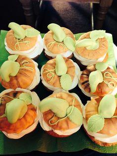 Herfst cupcake