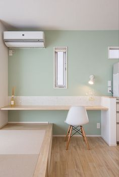 Tiny House Furniture, Home Furniture, Home Room Design, House Design, Tatami Room, Mint Green Walls, Kids Room Wallpaper, Japanese Interior, Bedroom Layouts
