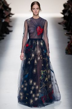 ilovejpeg:  Ine Neefs wearing my favorite gown from Valentino's FW14 collection. Perfection.