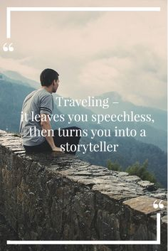 This travel quote is by the Moroccan traveler, Ibn Battuta who is known as the greatest traveller of premodern times. Save this for travel inspiration and get motivated to fill your life with extraordinary travel journeys.