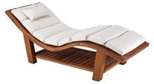 Teak Wave Lounger.  Exactly like The Elms Spa chairs.  I MUST HAVE IT.