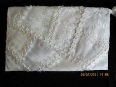 white on white -- crazy quilting MAGPIE'S MUMBLINGS
