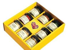 Gift Box Kind Heart Spices 8 pot By Penzeys Spices