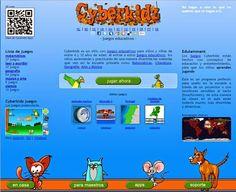 Página web con muchas y divertidas actividades de Lengua, Matemáticas, Geografía,..