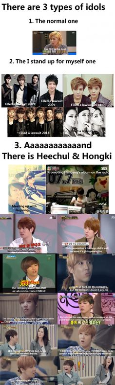 No wonder Heechul and Hongki hang out together....they have so much in common...like bashing their own company lol allkpop meme center