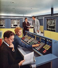 when computers filled an entire room - RCA 1959