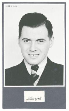 Angel of death . Auchwitz SS Doctor Josef Mengele
