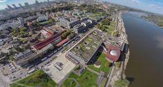 To my, z lotu ptaka. a konkretnie okiem drona / It's us, aerial view, specifically made by drone