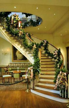 christmas staircase decorations staircase christmas decoration christmas home decorating photography