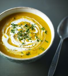 A richly flavoured soup, spiced with curry powder. Perfect for a cold day, serve with a dollop of tangy sour cream