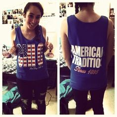 American Theme Bid Day  Chi O: American Tradition since 1895