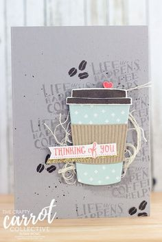 Coffee Cafe - The Crafty Carrot Co | Stamping With Susan | Bloglovin'