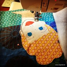 I just made a composition book cover for my sewing journal. Yes, it may be a little girly and silly, but I'm keepin' it fun – how I want sewing to be! And what is a sewing journa…