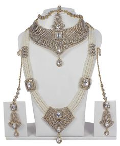 {Extra 20% Discount} MUCHMORE Bollywood Fashion Indian Great Bridal Necklace Set Traditional Partywear Jewellery -- Read more reviews of the product by visiting the link on the image. (This is an affiliate link)