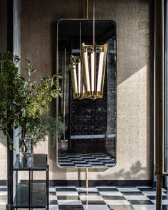Mirror Ideas a mirror is always the eprfect optio for your entryway   www.bocadolobo.com   #luxuryfurniture #mirrorideas