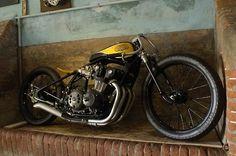 Bobber Inspiration | CB750 tracker #bobber | Bobbers and Custom Motorcycles | twowheelcruise July 2014