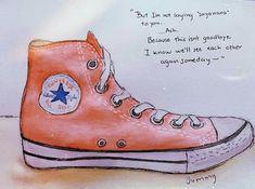 Converse Chuck Taylor, High Top Sneakers, Banana, Fish, Manga Drawing, Shoes, Mood, Anime, Sad