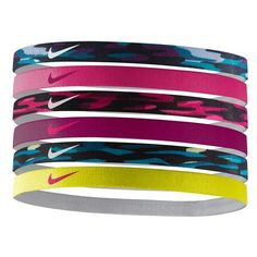 Nike Sport Headbands ($15) ❤ liked on Polyvore featuring accessories, hair accessories, nike, head wrap headband, nike headbands, hair bands accessories y sport headbands