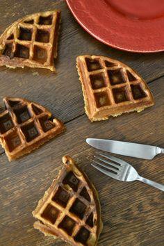 Apple Butter Waffles.