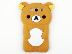 Amazon.com: Evergreat Technology rilakkumabear 3d Tpu Soft Silicone Case Cover for Samsung Galaxy S3 I9300, Brown: Cell Phones & Accessories