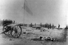 Soldados Chilenos en Morro de Arica